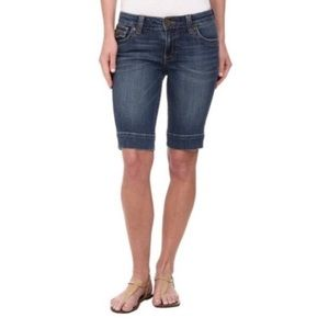 Kut From The Kloth 2 Natalie Bermuda Shorts Flawed